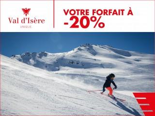 20% de réduction sur votre forfait de ski !
