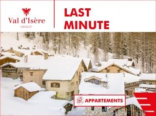 Offre LAST MINUTE en APPARTEMENT