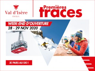 Your first tracks in Val d'Isère