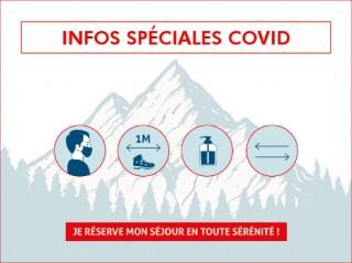 COVID19 - Conditions d'accueil à Val d'Isère - été 2021