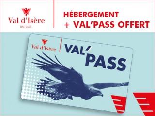Hébergement + VAL'PASS OFFERT