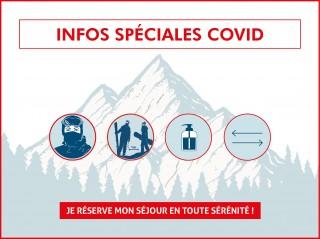 COVID19 - Conditions d'accueil à Val d'Isère