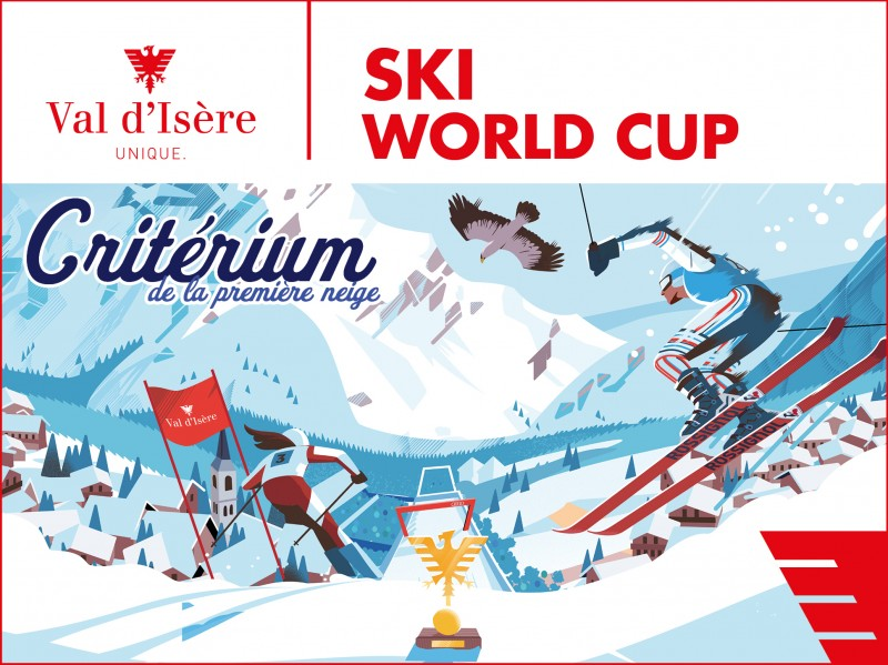 Ski world cup Val d'isere