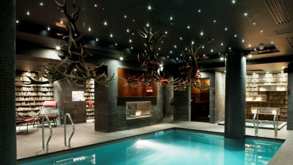 Spa of the hotel Avenue Lodge in Val d'Isere