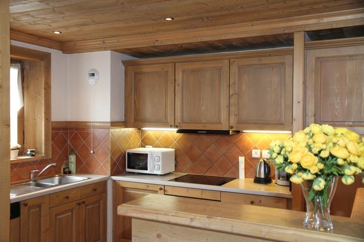 Kitchen, Les Alpes Chalet, Val d'Isère