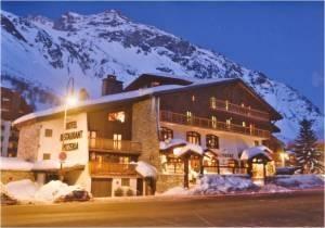 Façade Chalet Samovar Val d'Isère