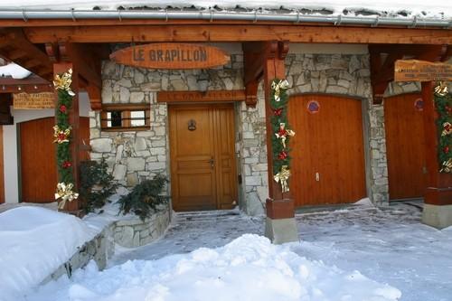Façade Le Grapillon Val d'Isère