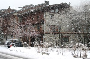 Housefront, Les Sapins, Val d'Isere
