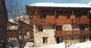 Façade Saint Roch Val d'Isère